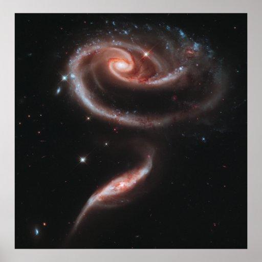 Galaxias que obran recíprocamente del Arp 273 (tel Impresiones