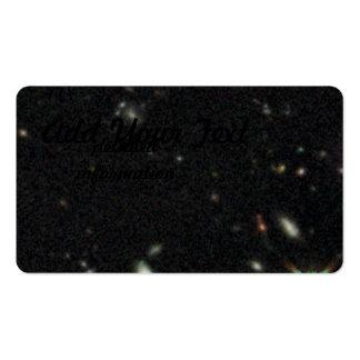 Galaxias tempranas en HUDF WFC3: Primer del IR Tarjetas De Visita