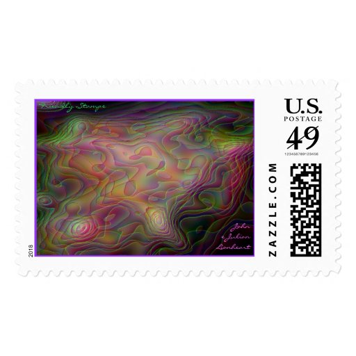 Galaxies Abounding Postage Stamps