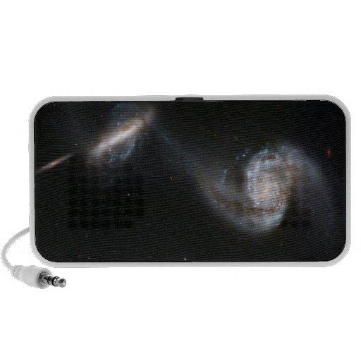 Galaxies Dance Laptop Speaker