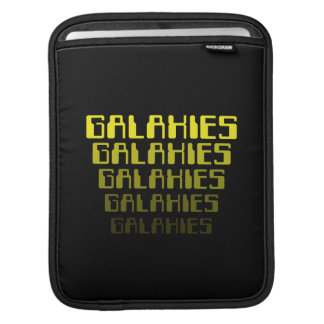 GALAXIES GALAXIES GALAXIES GALAXIES GALAXIES SLEEVES FOR iPads