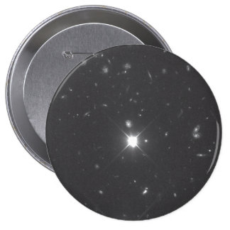 Galaxies in the Hubble Deep Field South Image Pinback Buttons