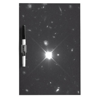 Galaxies in the Hubble Deep Field South Image Dry Erase Board