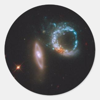 Galaxies Perfect Ten Classic Round Sticker