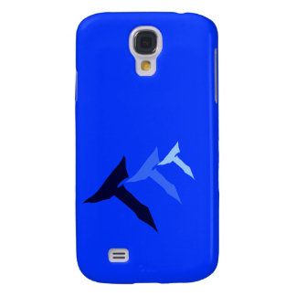 GALAXY4 BLUE PHONE SAMSUNG GALAXY S4 CASE