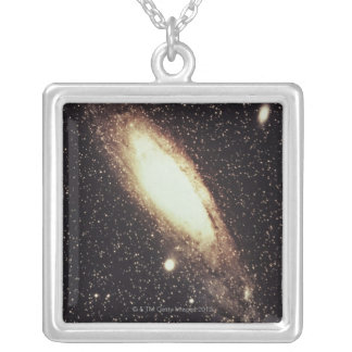 Galaxy 2 silver plated necklace