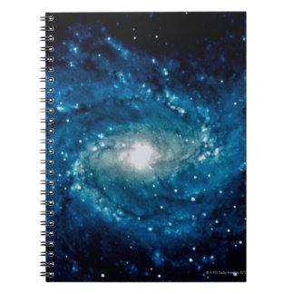 Galaxy 3 spiral notebook
