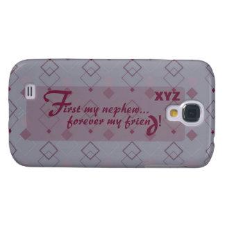 Galaxy 4 Nephew Customize w/his initials Galaxy S4 Case
