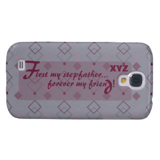 Galaxy 4 Stepfather Customize w/his initials Galaxy S4 Cover