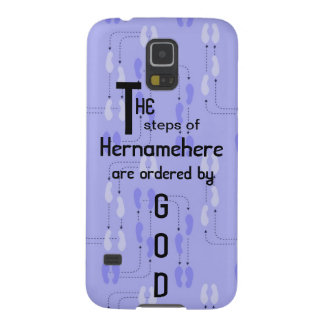 Galaxy 5 Case - Steps of Righteous Customized Name Galaxy S5 Cases