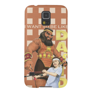 Galaxy 5 Phone Case-I Want To Be Like David-Male Galaxy S5 Covers