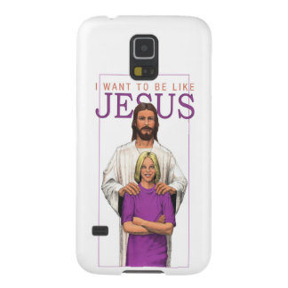 Galaxy 5 Phone Case-I Want To Be Like Jesus-Female Case For Galaxy S5