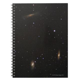 Galaxy 5 spiral notebook