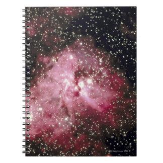 Galaxy 6 spiral notebook