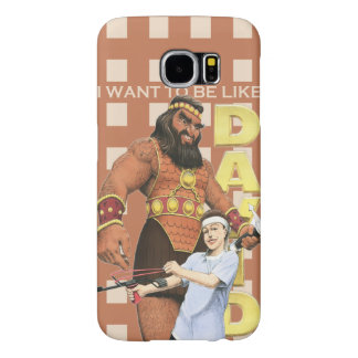 Galaxy 6 Phone Case-I Want To Be Like David-Male Samsung Galaxy S6 Cases