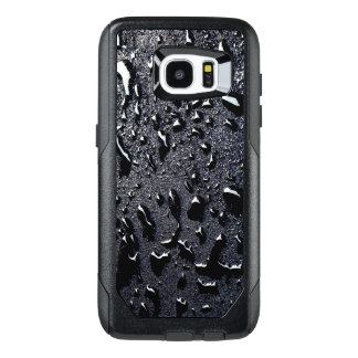 Galaxy 7 Case | Water Droplets on Black