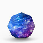 """Galaxy Acrylic Award<br><div class=""""desc"""">It's time to shine! Add some glittering stars and dazzle wherever you go with this celestial galaxy pattern.</div>"""