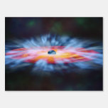 Galaxy Active nucleus Lawn Signs