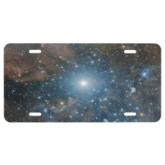 Galaxy, add text license plate