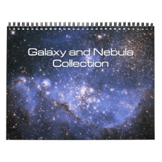 Galaxy and Nebula Collection Calendar