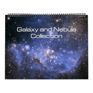 Galaxy and Nebula Collection Huge Calendar