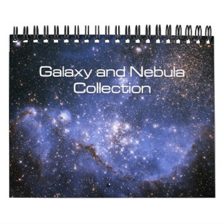 Galaxy and Nebula Collection Small Calendar