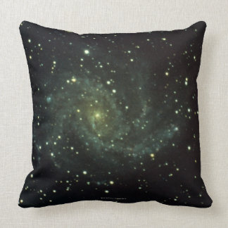 Galaxy and Stars Pillow