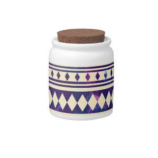 Galaxy andes aztec candy jar