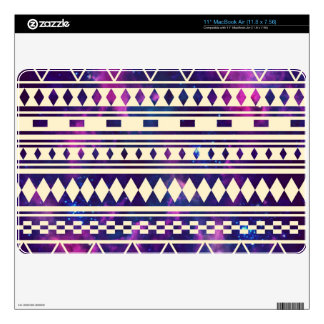 Galaxy andes aztec decals for the MacBook