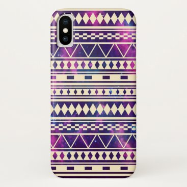 Aztec Themed Galaxy andes aztec iPhone x case