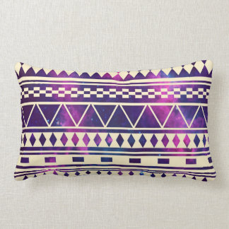 Galaxy andes aztec nebula throw pillow