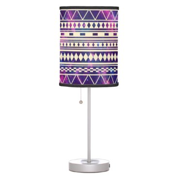 Aztec Themed Galaxy andes aztec table lamp