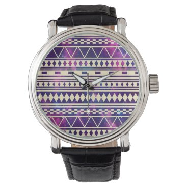 Aztec Themed Galaxy andes aztec wrist watch