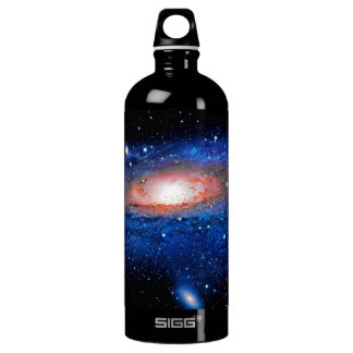 Galaxy Art Aluminum Water Bottle