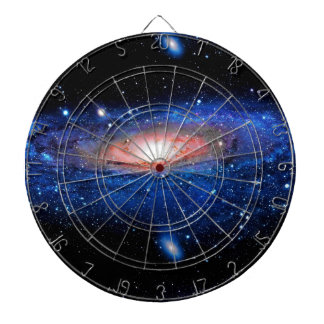 Galaxy Art Dart Board