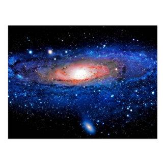 Galaxy Art Postcard