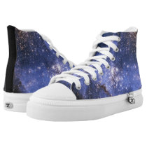 Galaxy Astronomy Small Magellanic Cloud High-Top Sneakers