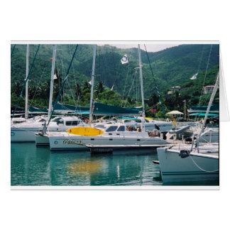 Galaxy at Nanny Cay-Tortola Card