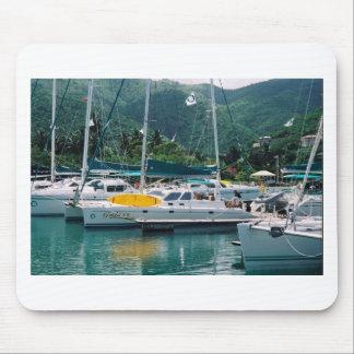 Galaxy at Nanny Cay-Tortola Mouse Pad