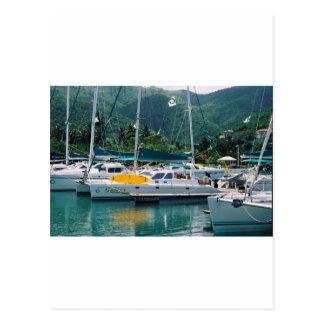 Galaxy at Nanny Cay-Tortola Postcard