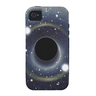 Galaxy Black hole in space iPhone 4/4S Cases