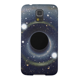 Galaxy Black hole in space Galaxy S5 Case