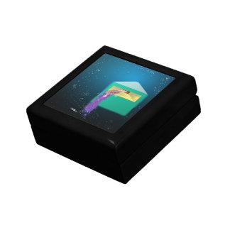 Galaxy Box Digital Abstract Art