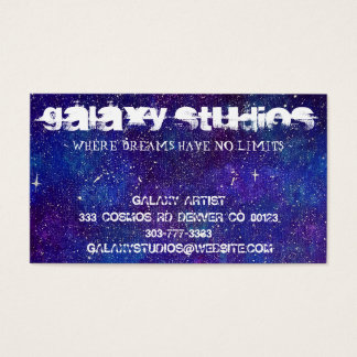 Galaxy Business Cards