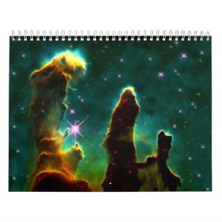 Galaxy Calendar 18 months