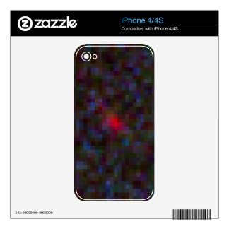 Galaxy Candidate MACS1149-JD Closeup Decal For iPhone 4S