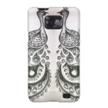 galaxy case-abstract art samsung galaxy SII cover