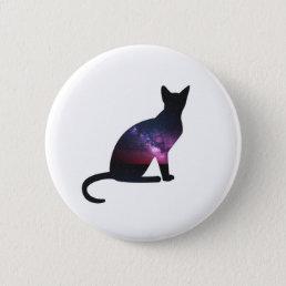 Galaxy Cat Button