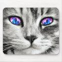 Galaxy Cat Eyes Mouse Pad (<em>$11.60</em>)