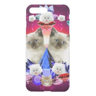 galaxy cat in diamond iPhone 8 plus/7 plus case